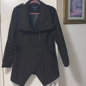 French Connection Military Coat